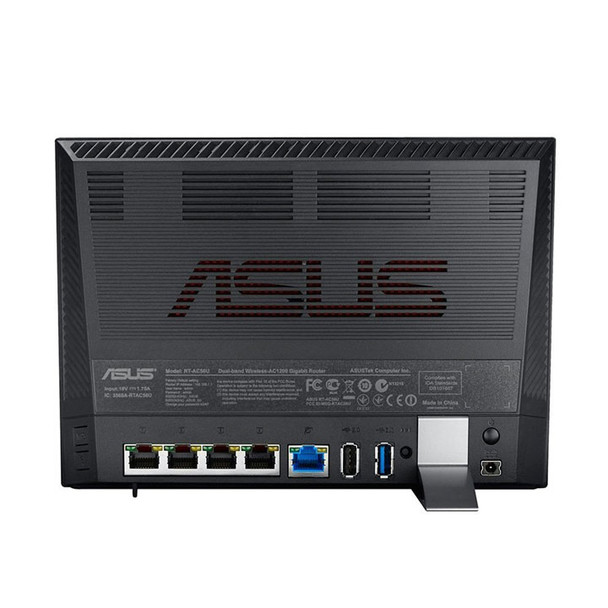 Asus RT-AC56R VPN Router Back