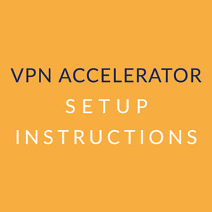 APN Accelerator Instructions