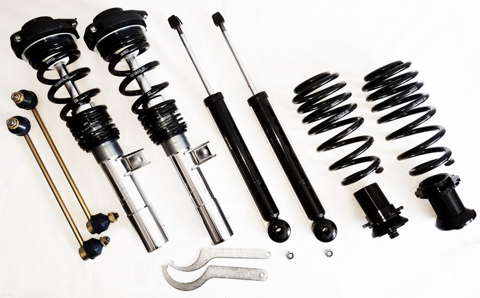 WRD ASSEMBLED ADVANTAGE STREET +COILOVER kit MK5/6, with GERMAN SPRINGS!