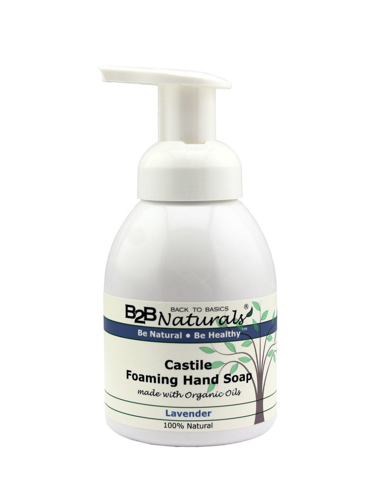With our Lavender Castile Foaming Hand Soap, you will fall in love with your soap! This premium hand soap has a super-rich, luxurious lather that leaves your skin soft and refreshed.