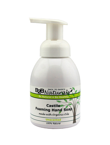 With our Unscented Castile Foaming Hand Soap, you will fall in love with your soap! This premium hand soap has a super-rich, luxurious lather that leaves your skin soft and refreshed.