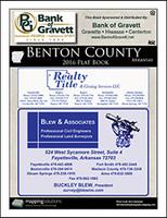 Benton County Arkansas 2016 Plat Book