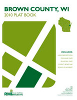 Brown County Wisconsin 2010 Plat Book
