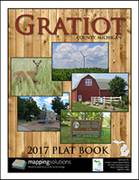 Gratiot County Michigan 2017 Plat Book