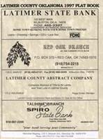 Latimer County Oklahoma 1997 Plat Book