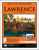 Lawrence County Indiana 2016 Plat Book
