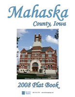 Mahaska County Iowa 2008 Plat Book