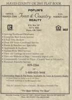 Mayes County Oklahoma 2001 Plat Book