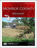 Monroe County Michigan 2018 Plat Book