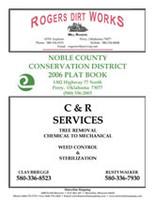 Noble County Oklahoma 2006 Plat Book