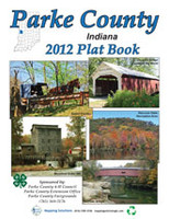 Parke County Indiana 2012 Plat Book