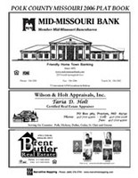Polk County Missouri 2006 Plat Book