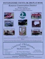 Pottawatomie County Oklahoma 2004 Plat Book