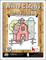 White County Illinois 2018 Plat Book