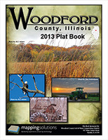 Woodford County Illinois 2013 Plat Book