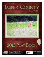 Jasper County Illinois 2013 Plat Book