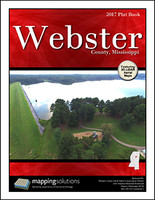 Webster County Mississippi 2017 Plat Book