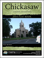 Chickasaw County Mississippi 2014 Plat Book