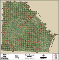 Clark County Missouri 2015 Aerial Map