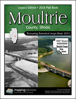 Moultrie County Illinois 2018 Plat Book
