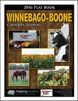 Winnebago-Boone Counties Illinois 2016 Plat Book