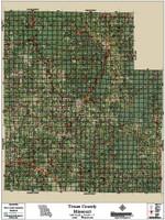 Texas County Missouri 2016 Aerial Map
