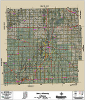 Henry County Indiana 2017 Aerial Map