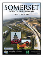 Somerset County Pennsylvania 2017 Plat Book