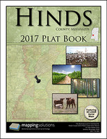 Hinds County Mississippi 2017 Plat Book