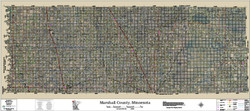 Marshall County Minnesota 2017 Aerial Map