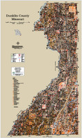 Dunklin County Missouri 2015 Soils Wall Map