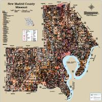 New Madrid County Missouri 2015 Soils Wall Map