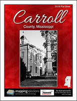 Carroll County Mississippi 2018 Plat Book