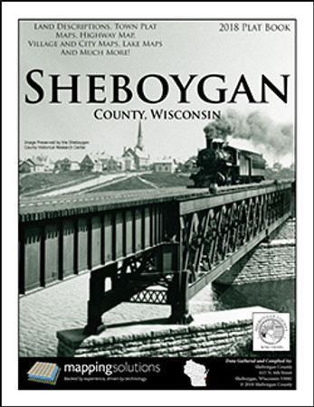 Sheboygan County Wisconsin 2018 Plat Book