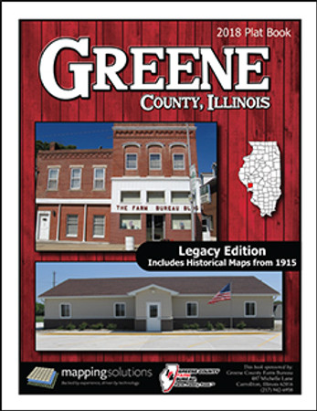 Greene County Illinois 2018 Plat Book