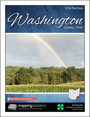 Washington County Ohio 2018 Plat Book