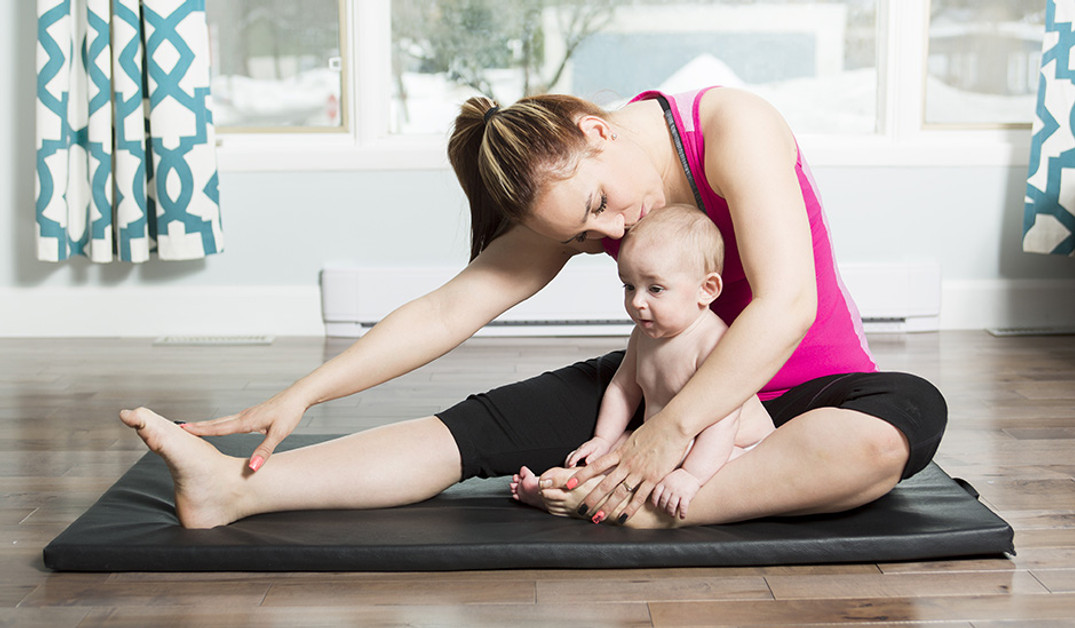 Exercise Tips For Breastfeeding Mums With New Babies Interview