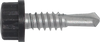 "100/Pack Nylon Head 14 x 1"" True Stainless Self Drilling Screw - Choice Of Finish"