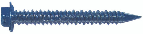 "Blue-Tap Concrete Screws Hex Head (1/4"" x 2-1/4"") Blue - 100 pcs"