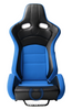 Cipher Auto - VP-8 Racing Seats Blue w/ black carbon PU - Pair
