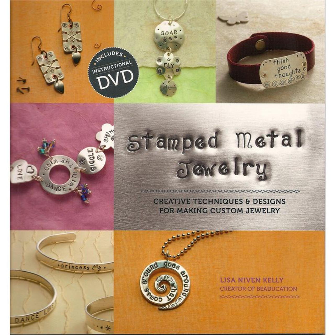 Creative Custom Jewelry Home: Stamped Metal Jewelry: Creative Techniques And Designs For