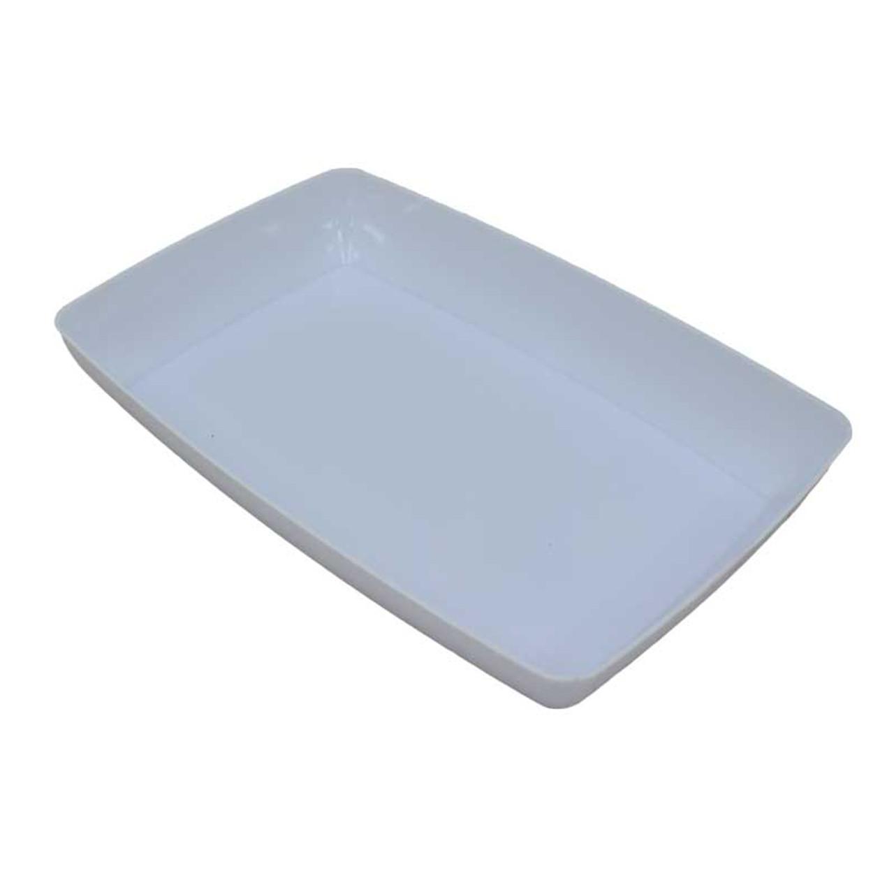plastic storage parts tray organizer 6 x 4 inches