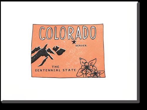 Colorado State Print: The Centennial State