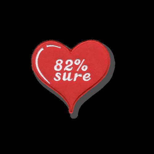 82% Sure Patch