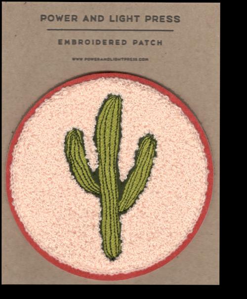 Saguaro Chenille Patch