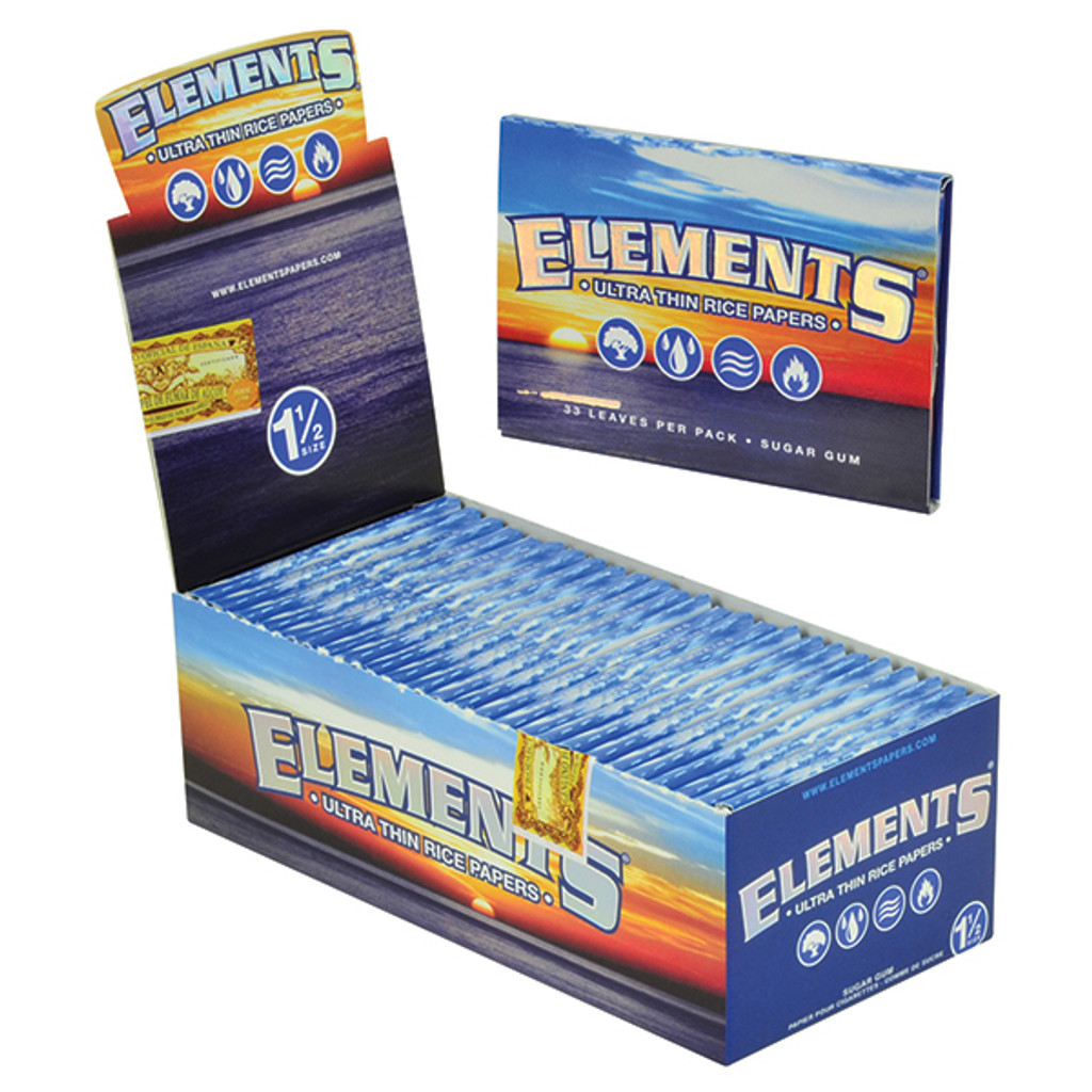 Elements Rice Papers 1 1/2 Size | 25 pk | Retail Display