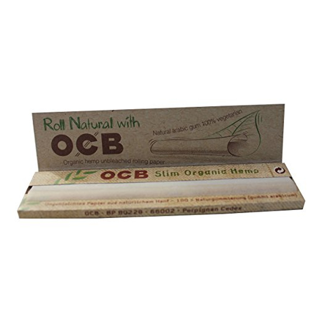 OCB SLIM King size rolling papers - single pack