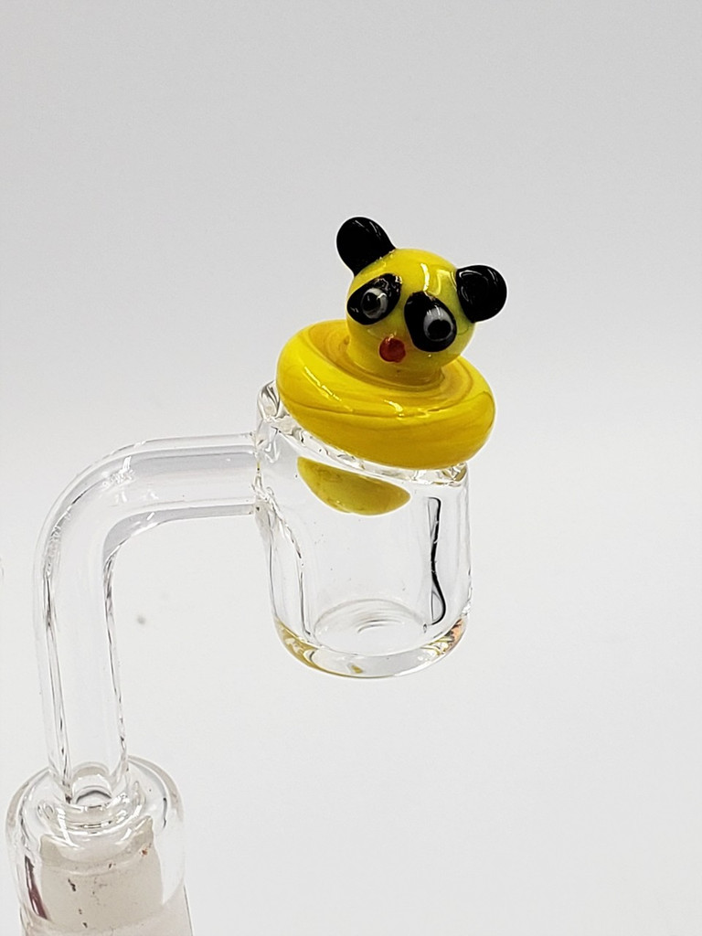 Teddy Bear Carb Caps | Assorted Colors (red, white, yellow)