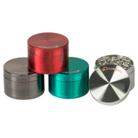 Custom 62mm 4-Piece Zinc Grinder