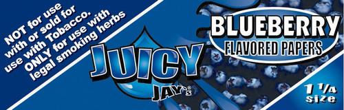 Juicy Jay's 1 1/4 | Blueberry | 24 books per box